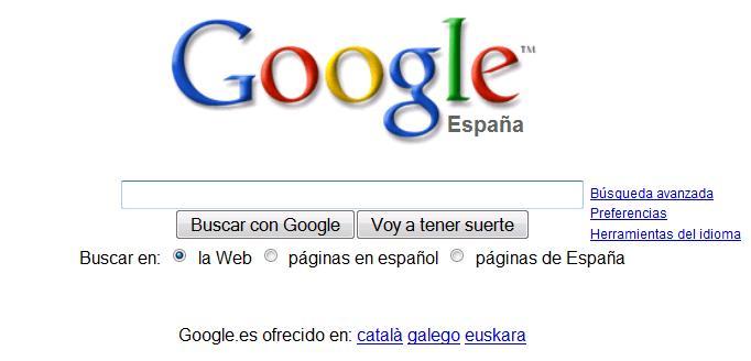 Google España:  líder indiscutible